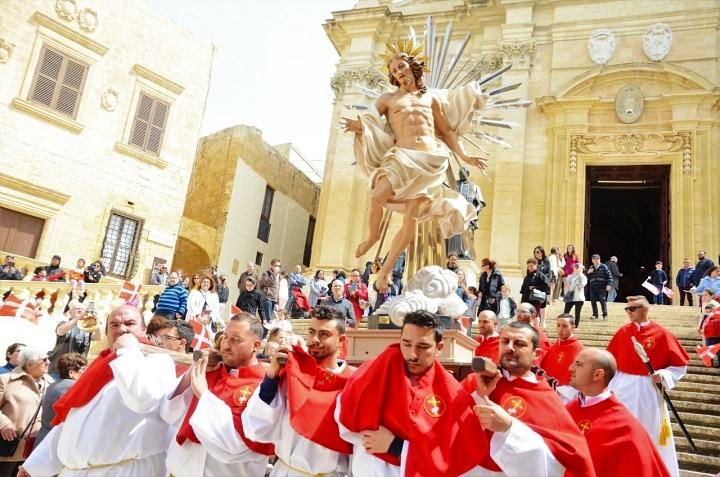 Easter weekend in Gozo comes to a close on Art, Faith and Tradition