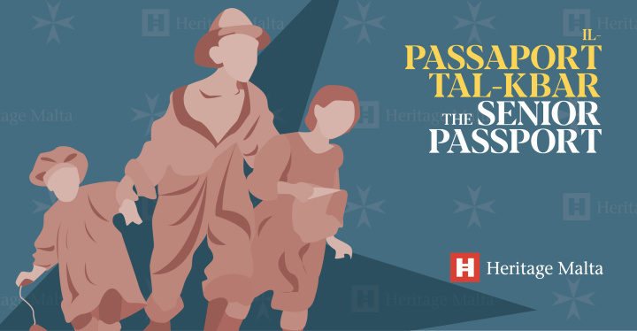 Heritage Malta launches Heritage Malta Senior Passport for over 60s